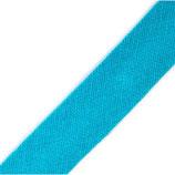 25 Meter Schrägband bw 14mm hellblau