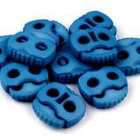 Kordelstopper 20*20mm blau