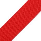 Gurtband 30mm rot PP