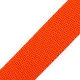 Gurtband 25mm orange PP