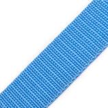 Gurtband 25mm hellblau PP