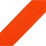 Gurtband 20mm orange PP