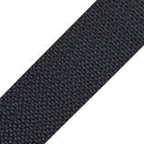 Gurtband 40mm dunkelgrau PP