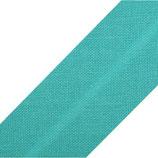 25m Schrägband 20mm türkisgrün bw