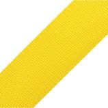 Gurtband 40mm gelb PP