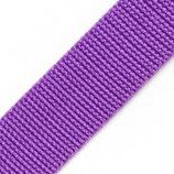 Gurtband 40mm lila PP