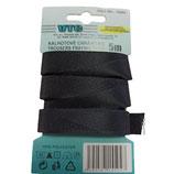 5 Meter Stoßband 15mm schwarz