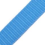 Gurtband 20mm hellblau PP