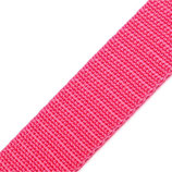 Gurtband 25mm rosa PP