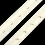 Korsettband 25mm off-white Baumwolle