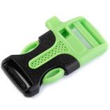 Steckschnalle hellgrün 20mm mit Trillerpfeiffe