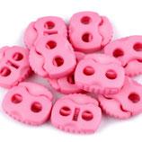 Kordelstopper 20*20mm rosa