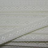 Elastisches Schrägband 12mm off white JACQUARD