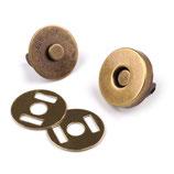 Magnetverschluss 15 mm Alt-Messing
