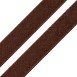 Paspelband 12mm brunette Baumwolle