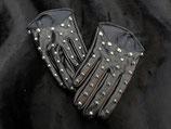 Schwarze Nieten Handschuhe #1