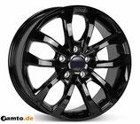 Ab BJ 17: 5x120, Typ: TV-16X California schwarz für neuen VW Crafter/MAN TGE 5x120 (ab BJ 2017)