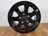 Radsatz 16 Zoll,  6x130, Typ: TM-16T schwarz für Mercedes Sprinter