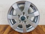 Bis BJ 17: 6x130, Typ: TM-16T silber für VW Crafter 6x130 (bis Bj 2017):