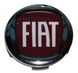 Radnaben-Kappe / Deckel Alu ORIGINAL FIAT mit Logo für Fiat Ducato  4er Set = 1358877080