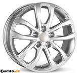 Ab BJ 17: 5x120, Typ: TV-16X California silber für neuen VW Crafter/MAN TGE 5x120 (ab BJ 2017)