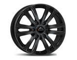 Radsatz 18 Zoll,  6x130, Typ: TM-18M schwarz für Mercedes Sprinter 6x130: