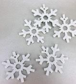 Filz Schneeflocken Anhänger