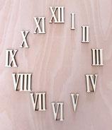 Römische Ziffern aus Holz - 2-20 cm