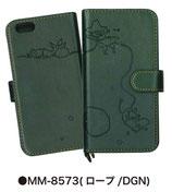 ムーミン iPhone6/6S対応ブックスタイルケース