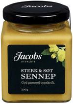 SENNEP SØT/STERK 200G JACOBS UTVALGTE