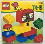 Caja de Piazas (Lego Duplo)