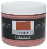 Sennelier Gesso - Red Ochre - 500ml