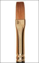 Raphaël Kolinsky Gold Extra Flat Brush Series 905 - Size 8