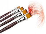 Da Vinci Vario-Tip Flat Brushes - Series 1381