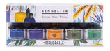 Sennelier Ink Majorelle Colours Set 5 x 30ml