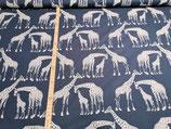 Afrika Afrika dunkelblau