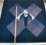 Square Dance Panel Mann a´ 80cm