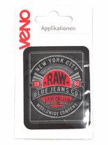 Applikation Raw Blue Jeans Co
