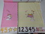 Geburtstagspanel Mädchen a´ 75 cm