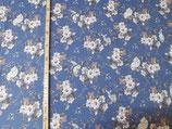 Vintage Indy Blumen blau