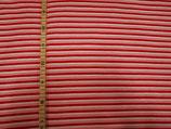 Streifen rot/rosa/weiß mit Glitter