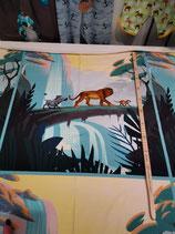 König der Löwen 3er Panel blau/grün 60cm