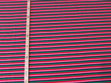 Streifen rosa/rot/grün/glitzerblau