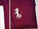 Magic Unicorn Panel a´ 65cm Beere