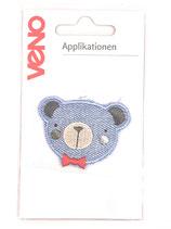 Applikation Bärchen Denim
