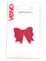 Applikation Schleife Pailletten pink