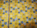 Große Punkte auf gelb