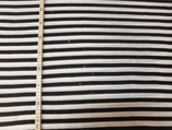 Streifen schwarz weiß mit Pailetten