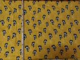 Waschbären auf gelb