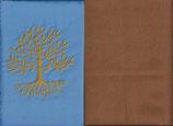 Lebensbaum Hellblau + Hellrost